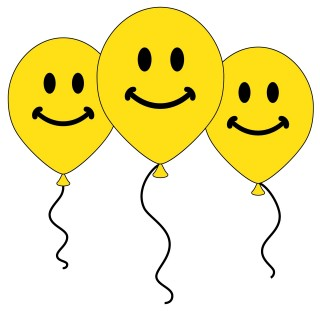 open, computer icons, smiley, balloon - smiley face transparent background PNG clipart thumbnail