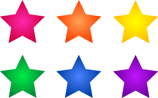 color, rainbow, star, graphics - star transparent background PNG clipart thumbnail