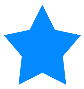 star, computer icons, blue, electric blue - star transparent background PNG clipart thumbnail