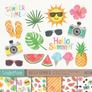 painting, summer luau, summer, bromeliaceae transparent background PNG clipart thumbnail